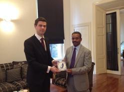 Op bezoek bij de Ambassadeur van Oman