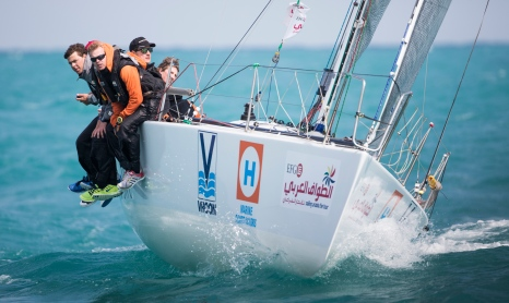 EFG Sailing Arabia The Tour 2015.Images free for editorial use.Credit: Lloyd