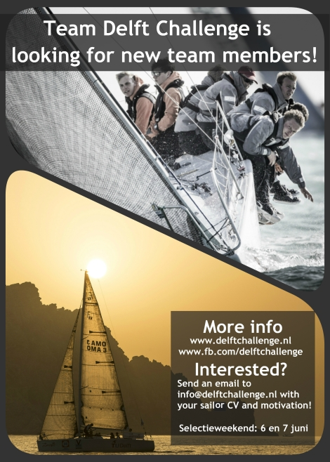 Poster selectieweekend 2015 versie 2